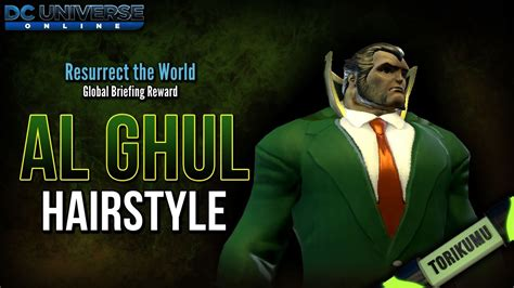 dcuo haircuts dcuo al ghul hairstyle resurrect the world briefing