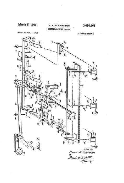 sectionalizing switch patent us3080461 sectionalizing switch google patents