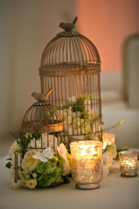luxury white birdcage centerpiece 64 for minimalist design