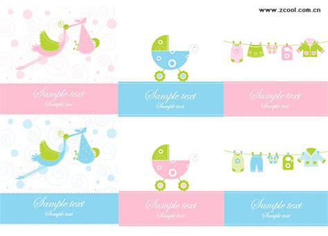 Baju Bayi Vektor eps format termasuk jpg pratinjau kata kunci vektor bayi unsur kereta bayi latar belakang