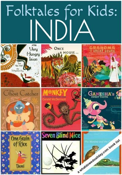 Holiday Arts And Crafts For Kids - folktales for kids from india picture books