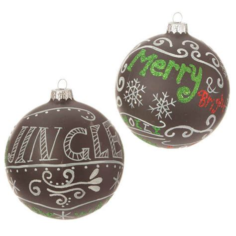 raz 4 quot merry jingle ball ornament set of 2