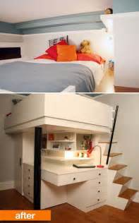 Loft Bed Small Room 30 Cool Loft Beds For Small Rooms
