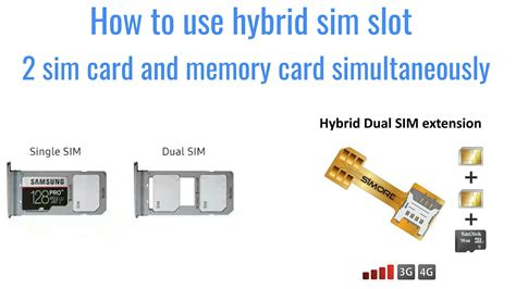 Hybird Dual Sim Extension how to use hybrid sim slot 2 sim card and memory card