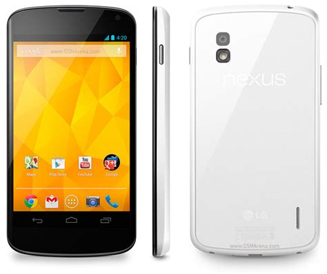 Hp Lg Nexus 4 lg nexus 4 e960 pictures official photos