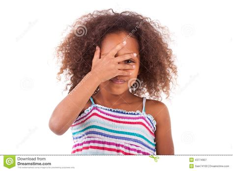 cute hairstylesondoesross for black people cute young african american girl hiding her eyes black