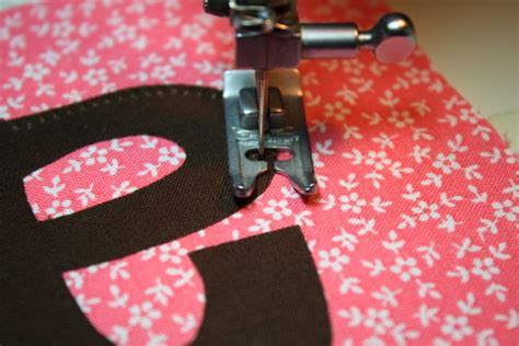 how to sew applique applique with sewing machine