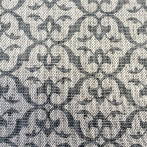 grey patterned cotton fabric brita grey grey patterned linen mix fabric