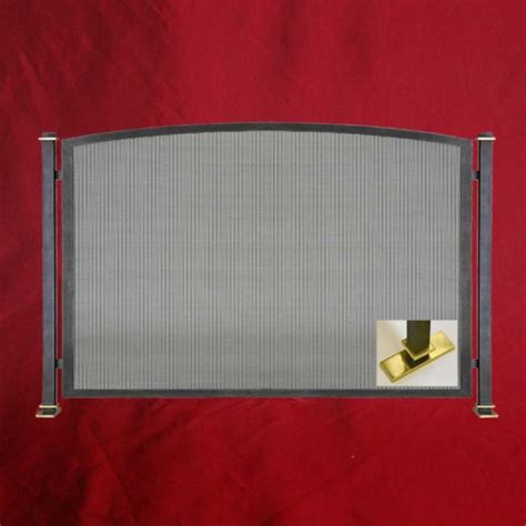 Fireplace Screen Single Panel by Floating Single Panel Fireplace Screen Northshore