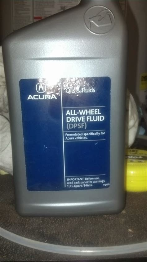 acura mdx differential fluid change rear differential fluid replacement acurazine acura
