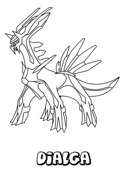 pokemon coloring pages dialga pokemon legendary dialga www pixshark com images