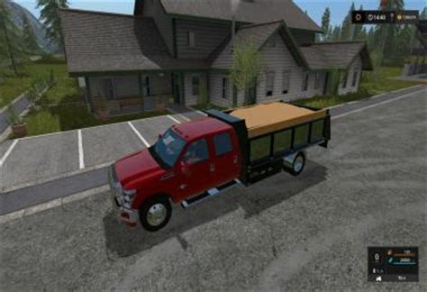 Bed Ls by Ford F 350 Dump Bed V1 For Ls 17 Farming Simulator 2017