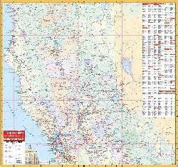 california wall maps national geographic maps map quest