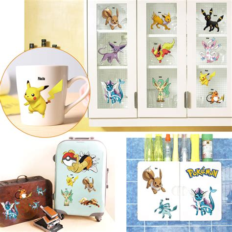 pokemon home decor pokemon go diy wall sticker removable stickers art decor