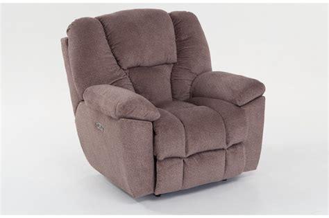 bob o pedic recliner falcon power recliner with power headrest bob s discount