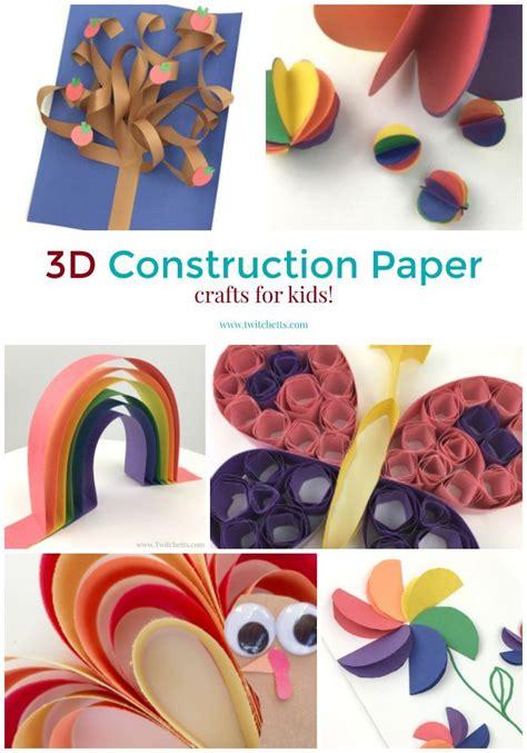 3d Construction Paper Crafts - 312 best construction paper crafts images on