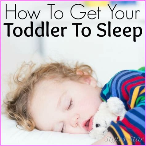 how to make a go to sleep how to get a baby to sleep through the stylesstar 174