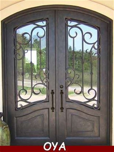 house steel main entrance door design double iron doorid