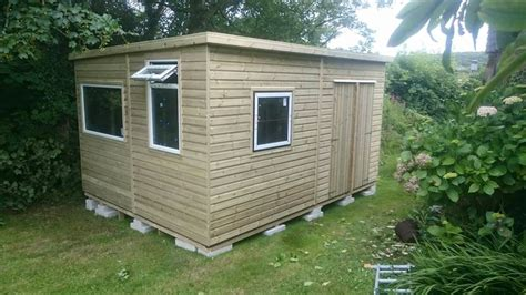 Upvc Shed by Shaun S Sheds Garden Sheds Buildings In Cornwall