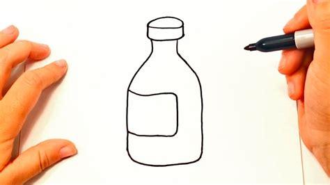 dibujos realistas botella c 243 mo dibujar una botella paso a paso dibujo f 225 cil de