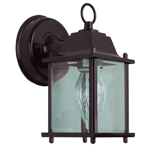 outdoor oil ls lanterns hton bay prestwick collection 1 light oil rubbed bronze