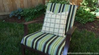 How To Make Cushions For Outdoor Furniture Sew Easy Outdoor Cushion Covers Oldie But Goodie