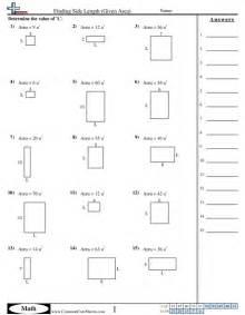 area amp perimeter worksheets