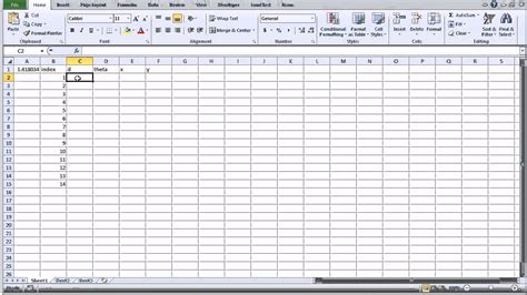 sequential pattern analysis exle make your own golden ratio seed pattern using excel youtube