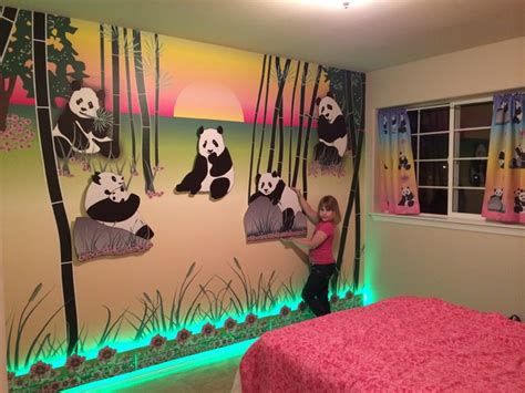 Balinese Home Decor Panda Theme Room