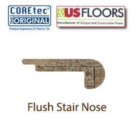 shaw flush stair nose flush stair nose molding for 50lvp206 boardwalk oak by us floors 174