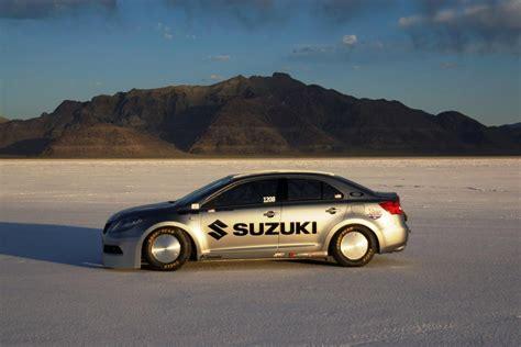 Suzuki Bonneville Suzuki Kizashi Bonneville Races To A Record Breaking 327km H