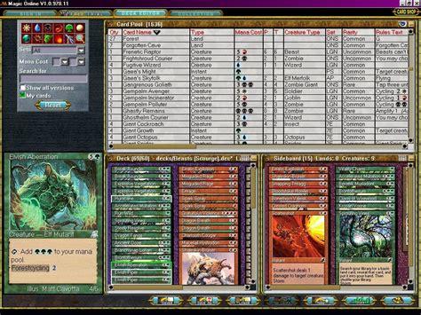 magic decks free mtg deck building programs backupyoo