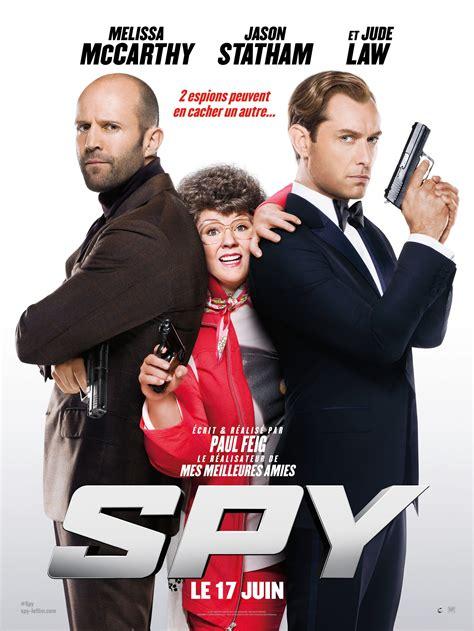 film avec jason statham 2015 affiche spy melissa mccarthy jason statham et jude law