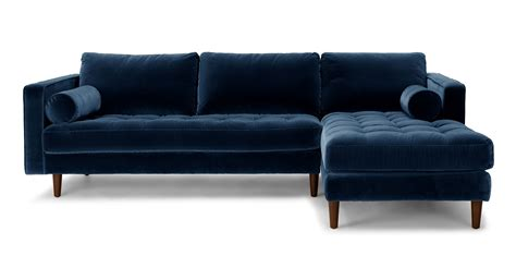 article sven sofa review sven cascadia blue right sectional sofa sectionals