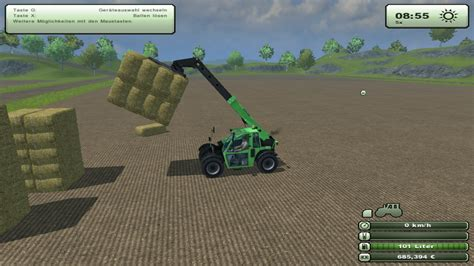 download game big farm mod fs 2013 bale fork telelader v 2 0 front loader mod f 252 r