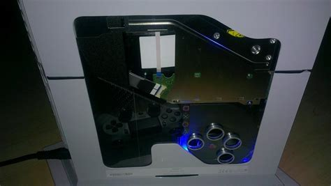 modded ps4 console check out this cool ps4 quot design quot mod wololo net