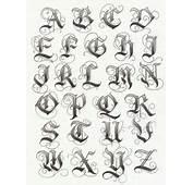 19 Letras Y Nombres Para Tatuajes