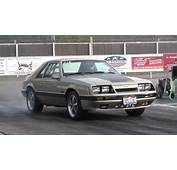 Turbo 86 Mustang Gt Sleeper Street Car Drag Racing 2012
