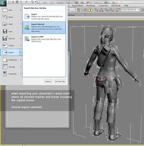 ragdoll unity exporting the t pose o hare character artist
