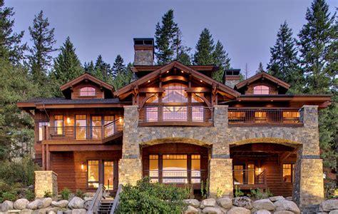 modern lakefront cabin in idaho usa mountain architects hendricks architecture idaho