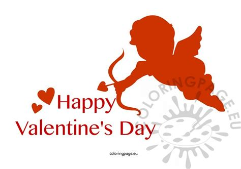 valentines day cupid pictures happy s day cupid coloring page