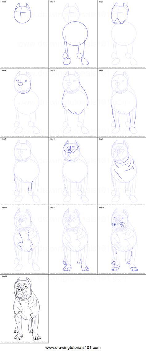 easy kids drawing lessons how to draw a cartoon house how to draw a pitbull printable step by step drawing sheet