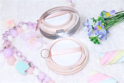 Real Powder Cushion Spf50 etude house real powder cushion review swatches