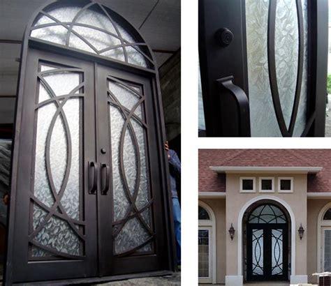 Iron Exterior Doors Forged Iron Entry Doors Custom Designed Exterior Iron Doors