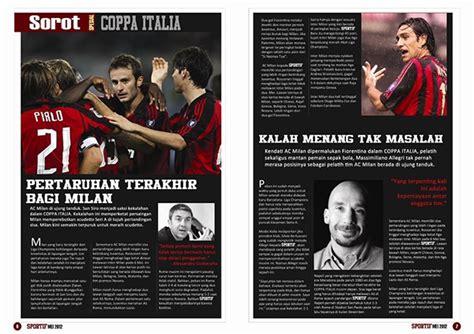 layout magazine sport sports magazine design layout on behance