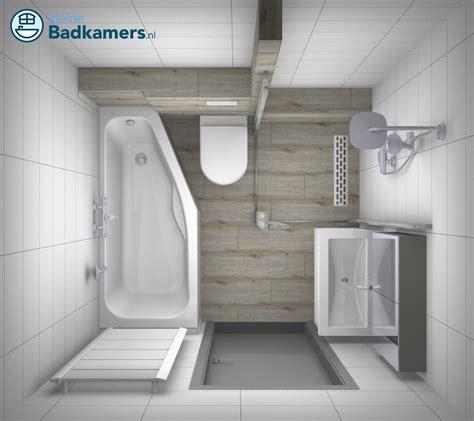 Badkamer Betegelen Voorbeelden by Complete Houtlook Badkamer Kleine Badkamers