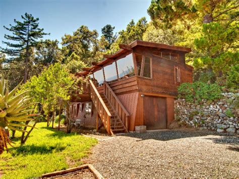 big sur cabin make like kerouac in this big sur cabin for 2 6 million