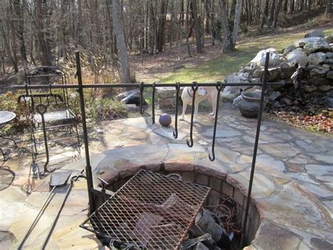 pit for cooking pit with cooking grill diy projects for everyone
