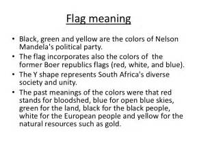 what are the colors of the south flag the south presentation