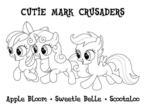 my little pony coloring pages cutie mark free my little pony apple bloom coloring pages
